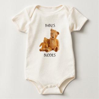 Body Para Bebê Bodysuit customizável do urso de ursinho para o