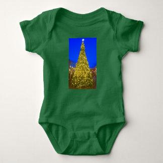 Body Para Bebê Bodysuit da árvore de Natal para o bebê