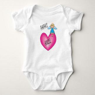 Body Para Bebê Bodysuit da criança do anjo da papá