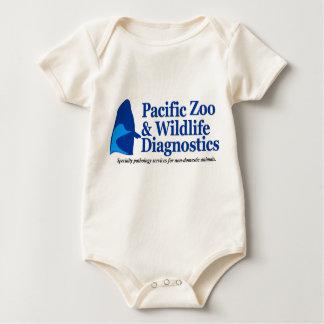 Body Para Bebê Bodysuit da criança do bebê de PZWD