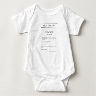Body Para Bebê Bodysuit da especiaria do bebê