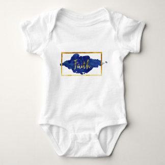 Body Para Bebê Bodysuit da fé