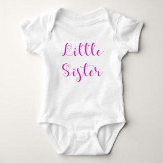 Body Para Bebê Bodysuit da irmã mais nova