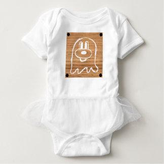 Body Para Bebê Bodysuit de madeira 1 do tutu do bebê do 鬼鬼 do