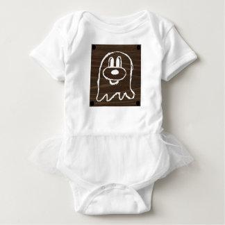 Body Para Bebê Bodysuit de madeira 3 do tutu do bebê do 鬼鬼 do