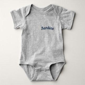 """Body Para Bebê Bodysuit de Mammaprada do bebê/do """"bebé"""", cinzento"""