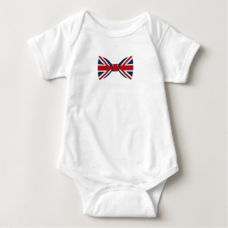Body Para Bebê Bodysuit do bebê - arco de Union Jack