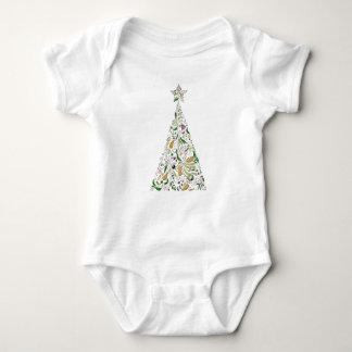Body Para Bebê Bodysuit do bebê - árvore dois de Toscânia