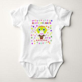 Body Para Bebê Bodysuit do bebê    boas festas por Morocko