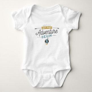 Body Para Bebê Bodysuit do bebê da aventura
