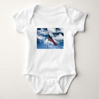 Body Para Bebê Bodysuit do bebê da bandeira americana