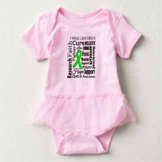 Body Para Bebê Bodysuit do bebê da consciência CDKL5