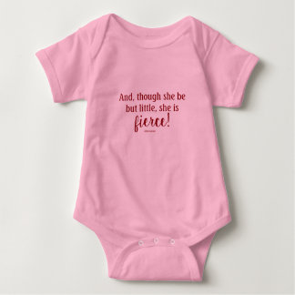 Body Para Bebê Bodysuit do bebê da cotação de Shakespeare