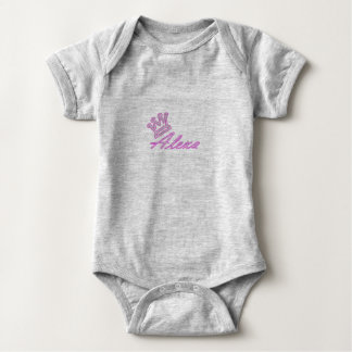Body Para Bebê Bodysuit do bebê da rainha Alexa