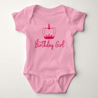 Body Para Bebê Bodysuit do bebê da rainha da coroa da menina do