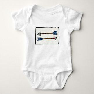 Body Para Bebê Bodysuit do bebê da seta