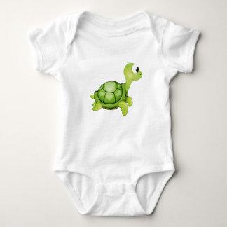 "Body Para Bebê ""Bodysuit do bebê da tartaruga do selo pequeno do"