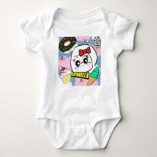 Body Para Bebê Bodysuit do bebê de Marshmella