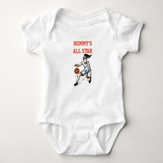 Body Para Bebê Bodysuit do bebê do basquetebol