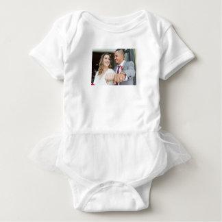 Body Para Bebê Bodysuit do bebê do casamento de Allison & de