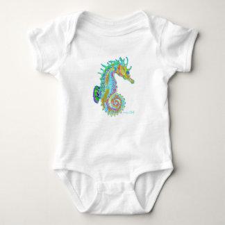 Body Para Bebê Bodysuit do bebê do cavalo marinho