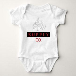 """Body Para Bebê Bodysuit do bebê do Co. da fonte do """"diamante"""""""