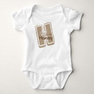Body Para Bebê Bodysuit do bebê do divertimento do alfabeto