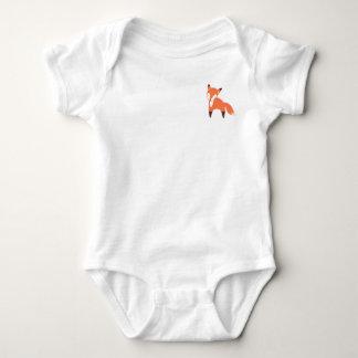 Body Para Bebê Bodysuit do bebê do Fox da floresta