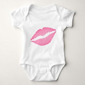 Body Para Bebê Bodysuit do bebê do impressão do beijo