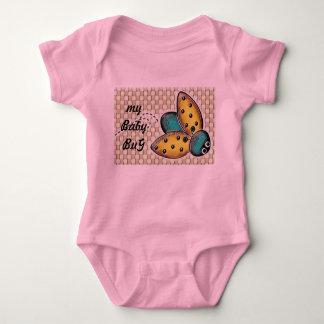Body Para Bebê bodysuit do bebê do inseto da senhora
