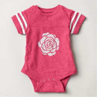 Body Para Bebê Bodysuit do bebê do rosa branco