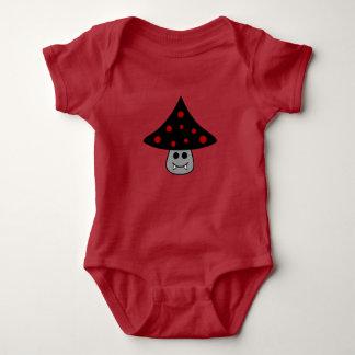 Body Para Bebê Bodysuit do bebê do vampiro do cogumelo