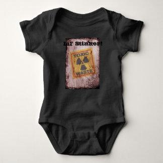 Body Para Bebê Bodysuit do bebê dos resíduos nucleares do Stinker