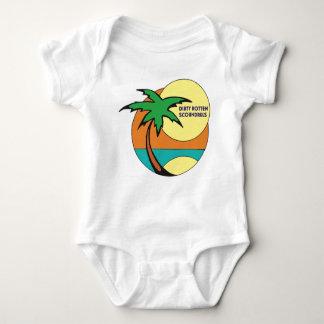 """Body Para Bebê """"Bodysuit do bebê dos sem-vergonha podres sujos"""""""
