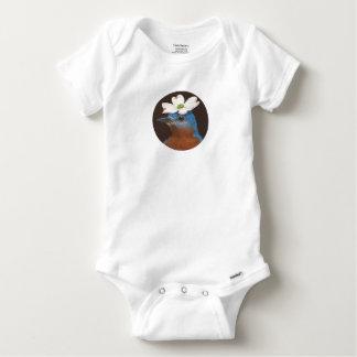 Body Para Bebê Bodysuit do Bluebird e do dogwood
