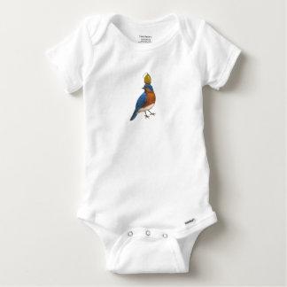 Body Para Bebê bodysuit do bluebird e do vagem