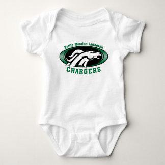 Body Para Bebê Bodysuit do carregador do bebê