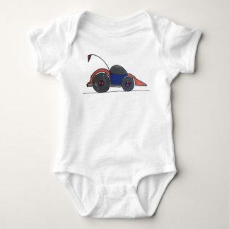 Body Para Bebê Bodysuit do carro de corridas