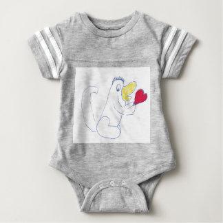 Body Para Bebê Bodysuit do esporte dos bebês do inseto do amor