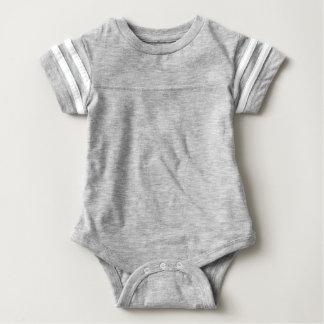 Body Para Bebê Bodysuit do futebol do bebê