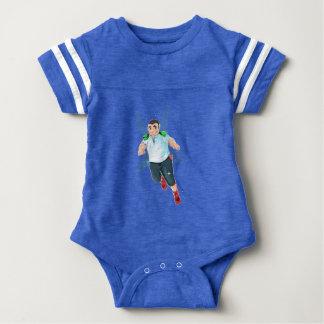 Body Para Bebê Bodysuit do futebol do bebê de Bubba