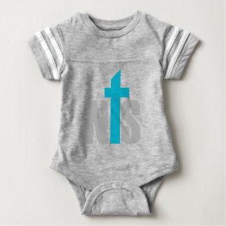 Body Para Bebê Bodysuit do futebol do bebê do NTS