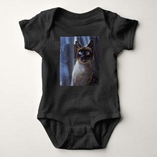 Body Para Bebê Bodysuit do gatinho da estrela