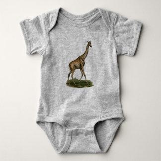 Body Para Bebê Bodysuit do girafa para amantes do girafa do