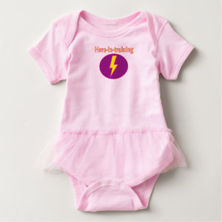Body Para Bebê bodysuit do Herói-em-treinamento