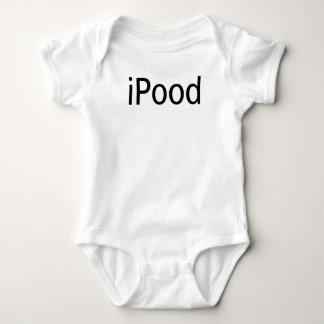 Body Para Bebê Bodysuit do iPood