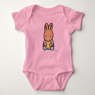 Body Para Bebê Bodysuit do jérsei do bebê, coelho doce