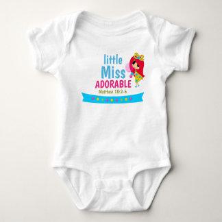 Body Para Bebê Bodysuit do jérsei do bebê da escritura