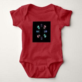 Body Para Bebê Bodysuit do jérsei do bebê das medusa