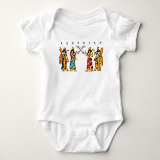 Body Para Bebê Bodysuit do jérsei do bebê de Anunnaki do Assyrian